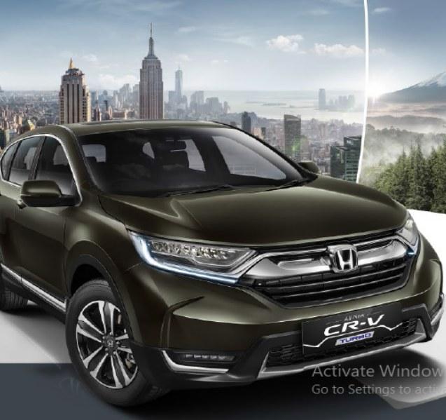 Honda New CR-V Turbo